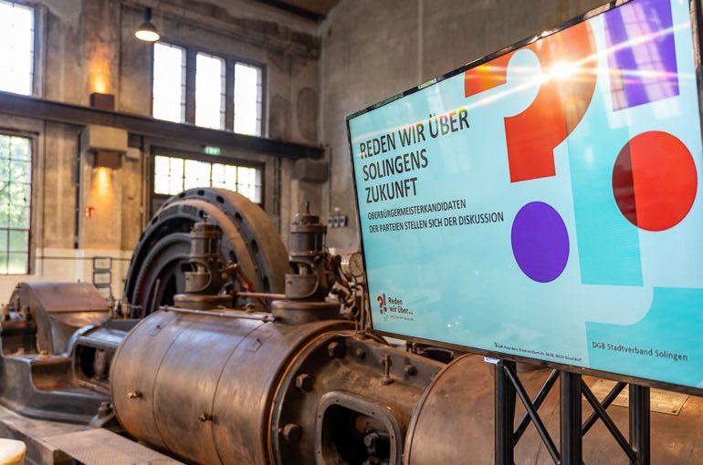 Alte Maschinenhalle Solingen Dampfmaschine