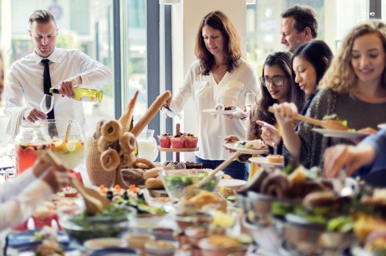 Buffet Catering Service Kraft