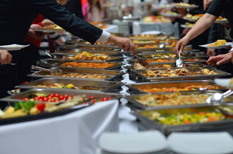 Buffet Chafing Dish Behalter