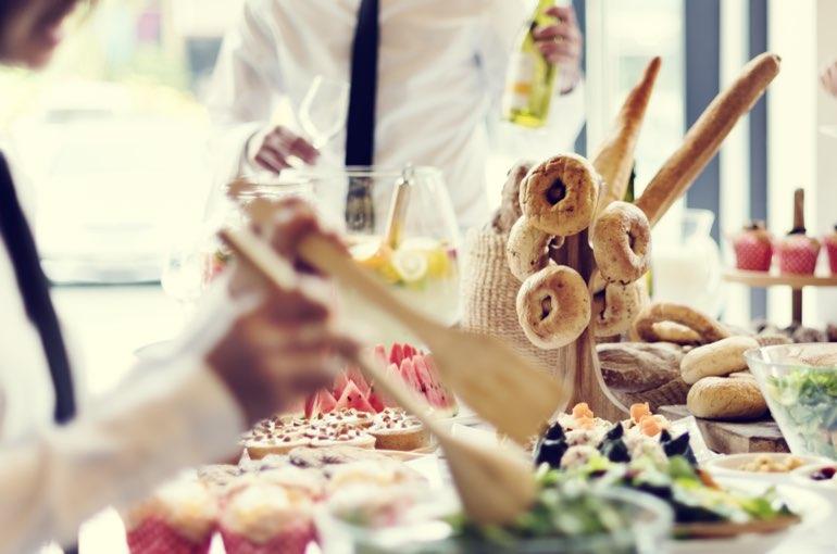 Hochzeitsbuffet Catering