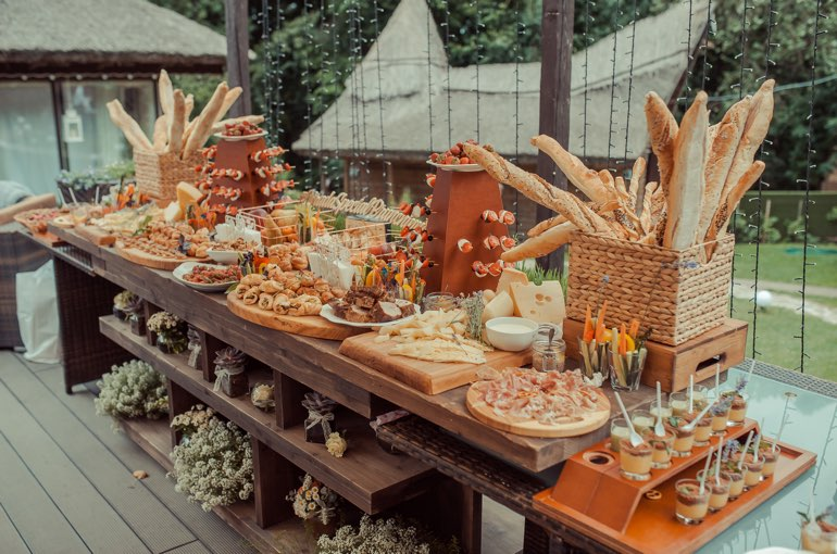 Hochzeitscatering Buffet Full Service Caterer