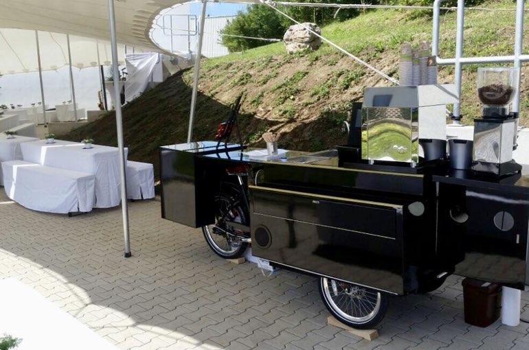 Cafe Bike mieten Veranstaltung