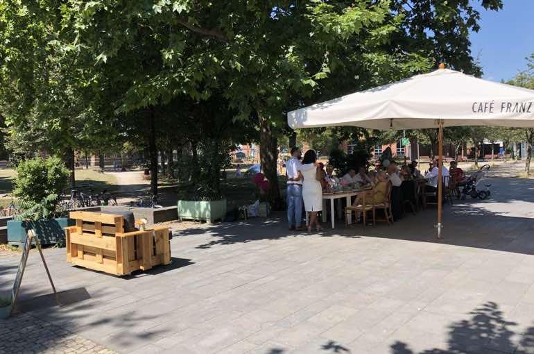 Cafe Franz Location Aussenbereich