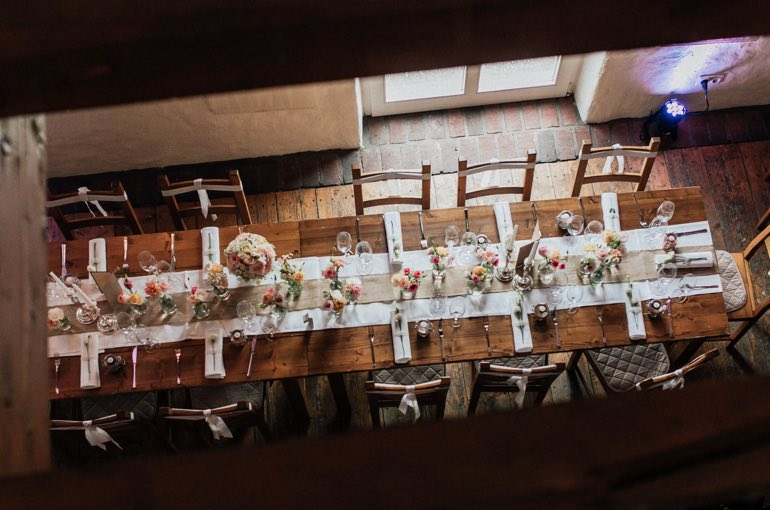 Neimeshof Hochzeitstafel Catering