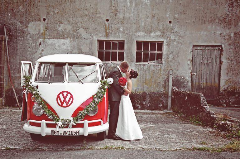 Hochzeit Bulli