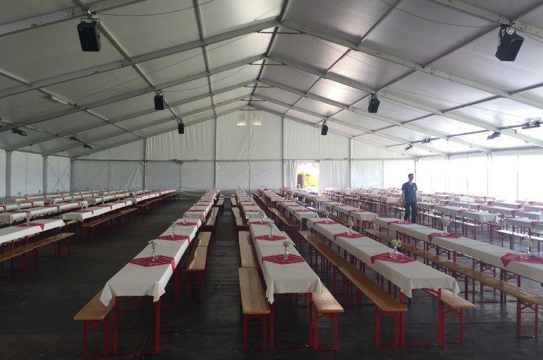 Ravensburger Event Catering Festzelt