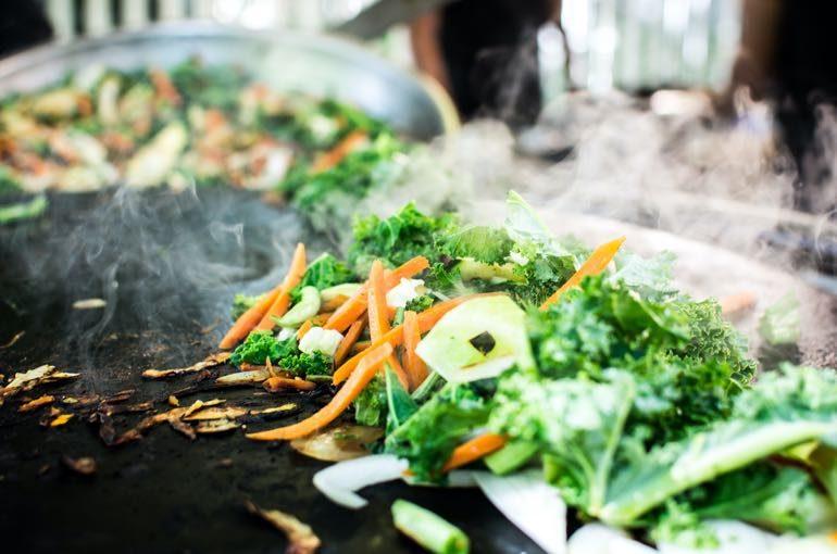 Grillgemüse Streetfood