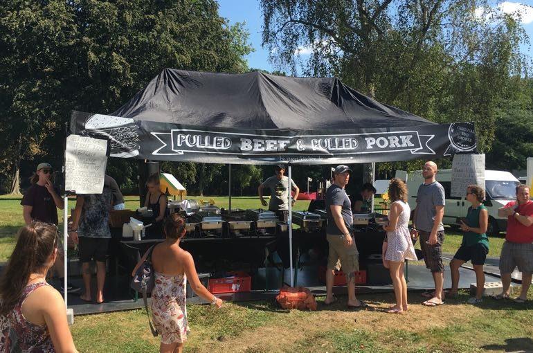 Wake the Line Event Streetfood