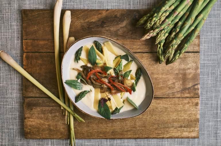 Thai Spargel Catering Speisekarte Koeln