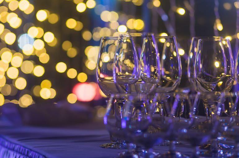 Gläser Weihnachtsbeleuchtung